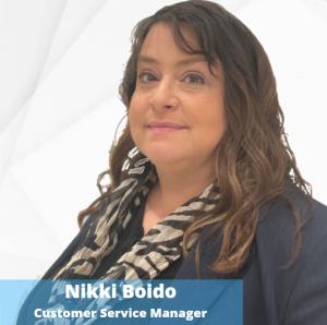 Nikki Boido - Customer Service Manager
